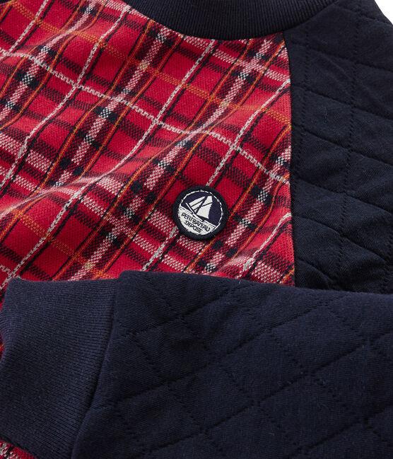 Sweatshirt für Jungen rot Terkuit / blau Smoking