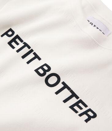 Kurzärmliges T-Shirt weiss Marshmallow