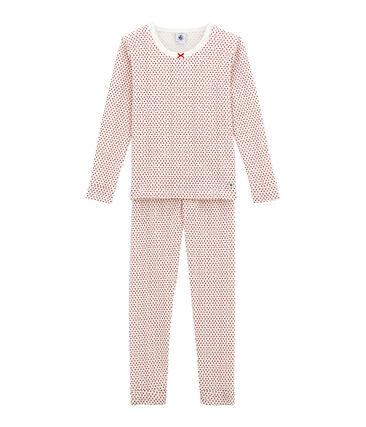 Eng anliegender Mädchen Schlafanzug