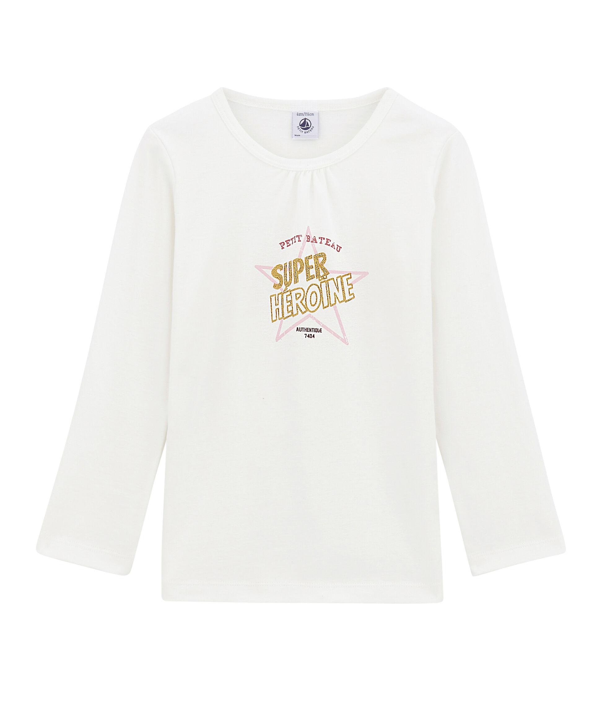 Petit Bateau M/ädchen Langarmshirt