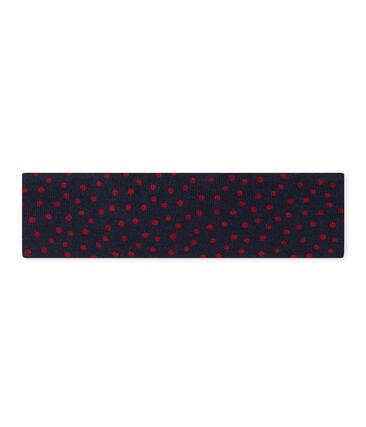 Mädchen-Haarband mit Schleife blau Smoking / rot Terkuit
