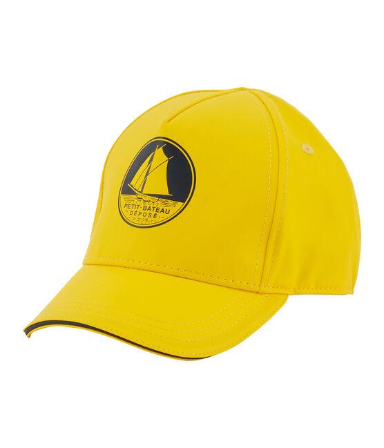Kinder-Kappe Unisex gelb Jaune