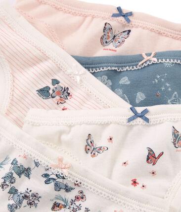 5er-Set Unterhosen aus Baumwolle für kleine Mädchen