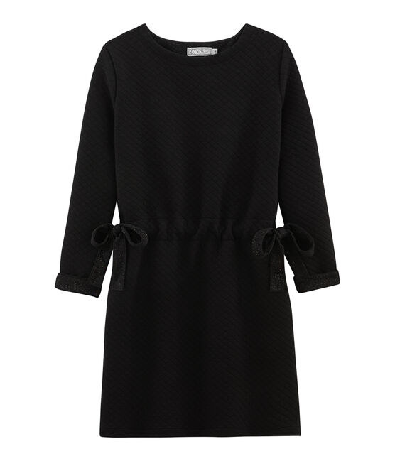 Kleid für Damen schwarz Noir / gelb Dore