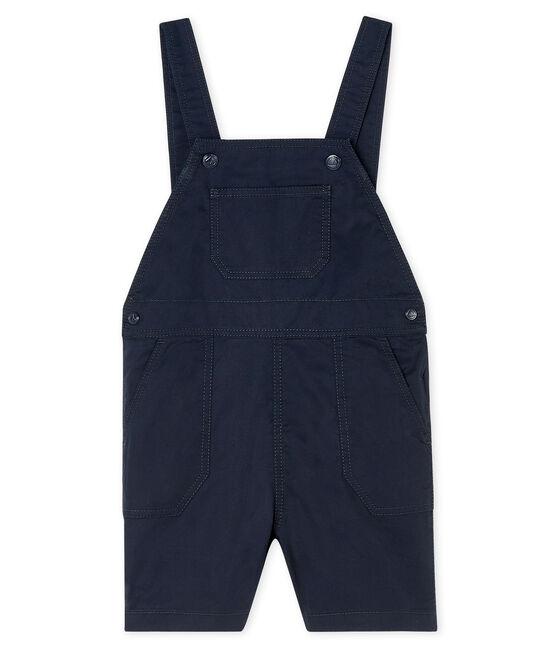 Baby-Kurzlatzhose für Jungen. blau Smoking