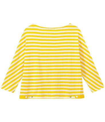 Gestreiftes Damen-Shirt mit 3/4-Ärmeln