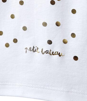 Mädchen-Trägerhemd mit goldenem Motiv