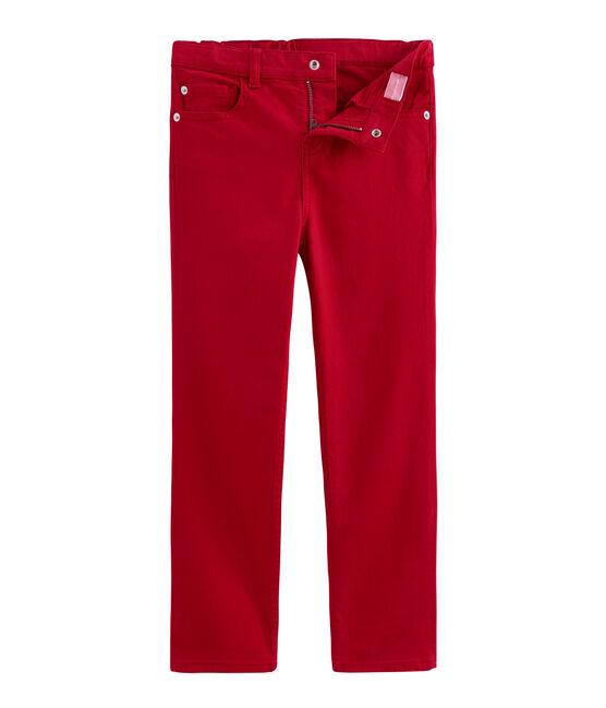 Kinderhose für Jungen rot Terkuit