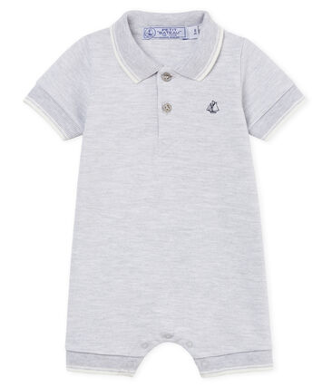 Baby-polo-kurzoverall jungen