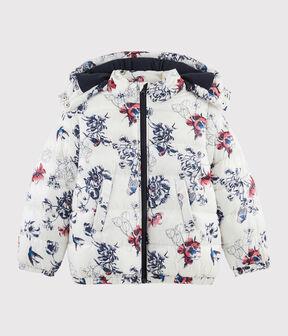 Kinder-Jacke für Mädchen beige Coquille / weiss Multico