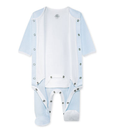 Unisex-Baby-Body und Schlafanzug in einem