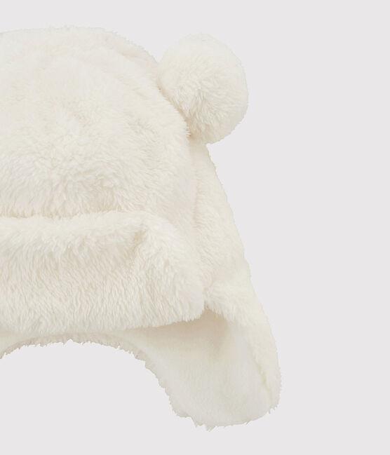 Kindermütze für Mädchen weiss Marshmallow