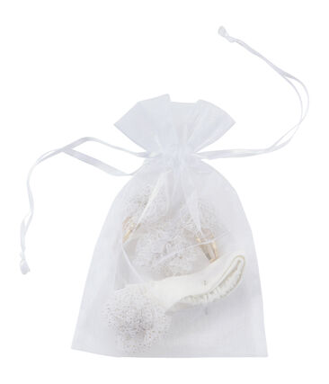 Accessoire-Set für die Haare weiss Marshmallow / gelb Dore