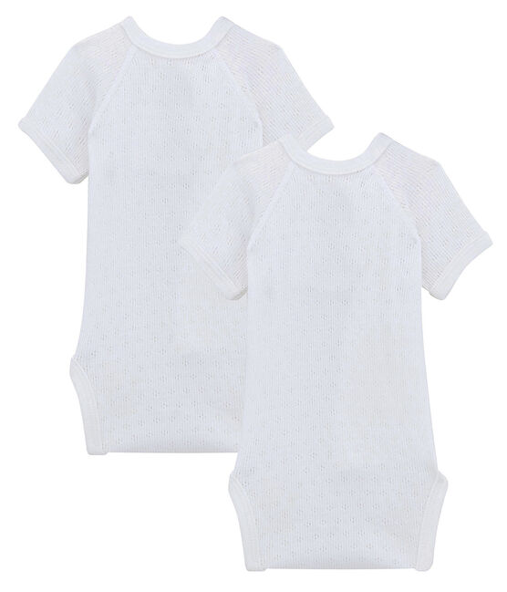 2er-Set kurzärmlige Baby-Bodys lot .