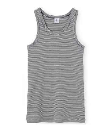Damen-Unterhemd mit Milleraies-Ringelmuster
