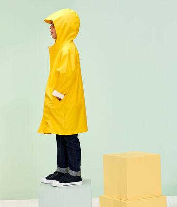 Kinder-Regenjacke für Jungen und Mädchen gelb Jaune