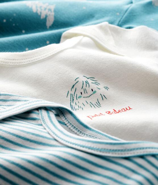 3er-Set langärmlige Baby-Bodys 'Yeti' für Jungen lot .