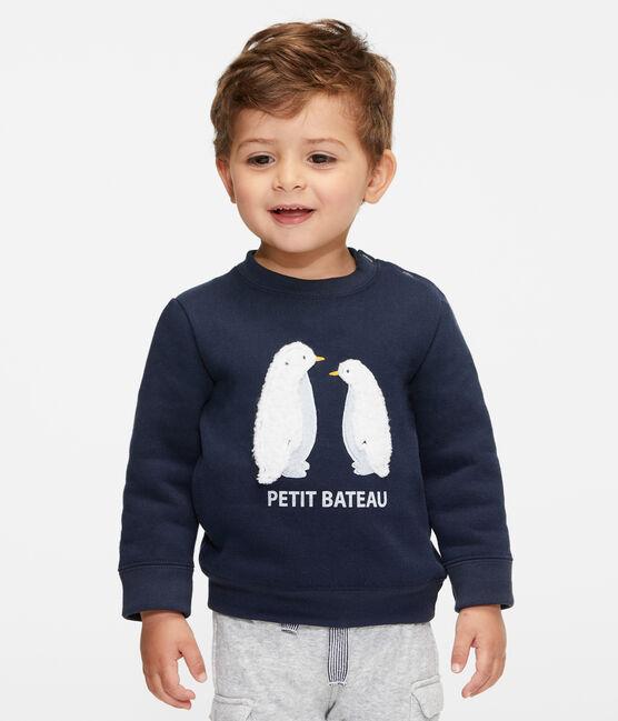 Baby-Sweatshirt aus Molton für Jungen SMOKING