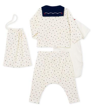 4-Teiliges gemustertes baby-set für jungen
