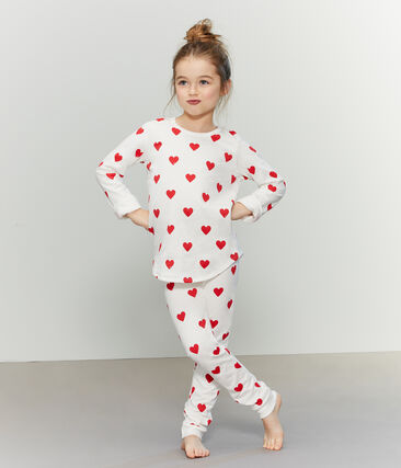 Molton-Pyjama für kleine Mädchen-Jungen