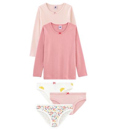 Unterwäsche-Set für kleine Mädchen