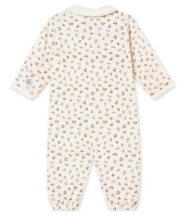 Baby MädchenOverall aus gedoppeltem Jersey mit Print