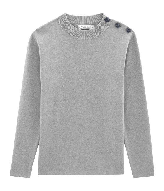 Seemannspullover für Herren einfarbig grau Subway