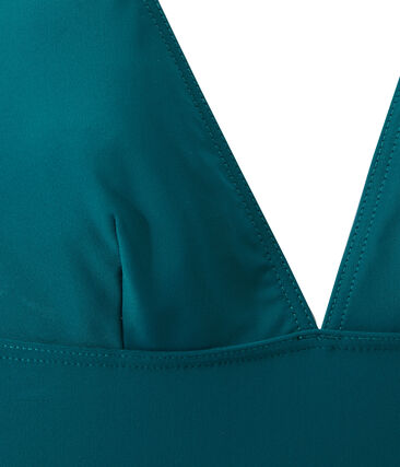Damen-Badeanzug grün Rivage