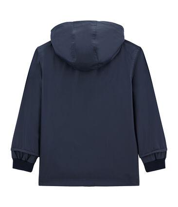 Emblematische Kinder-Regenjacke blau Smoking