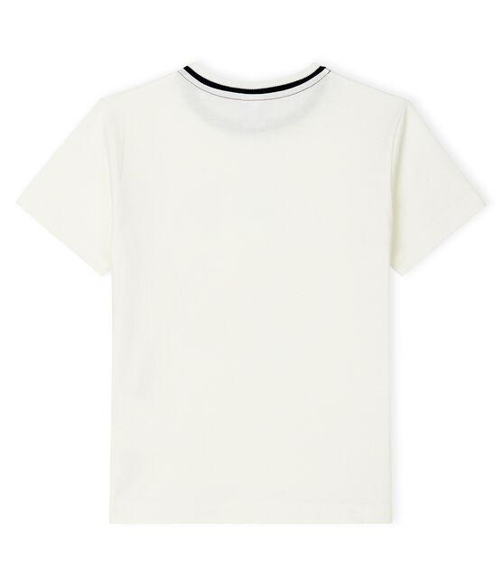 Kinder-T-Shirt für Jungen weiss Marshmallow