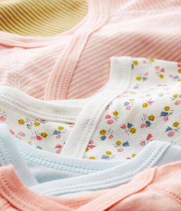 5er-Set Baby-Bodys für neugeborene Mädchen