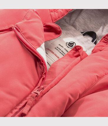 Baby-Schneeanzug Unisex aus Mikrofaser rosa Cosmetique