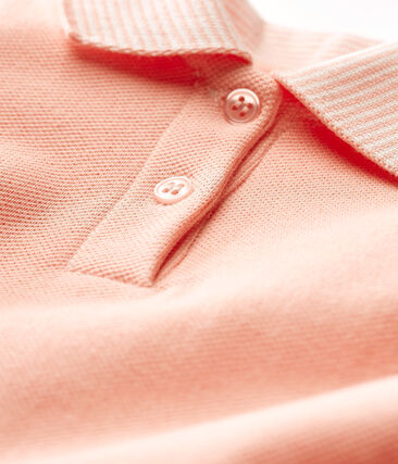 Kurzärmeliges baby-kleid mädchen rosa Rosako