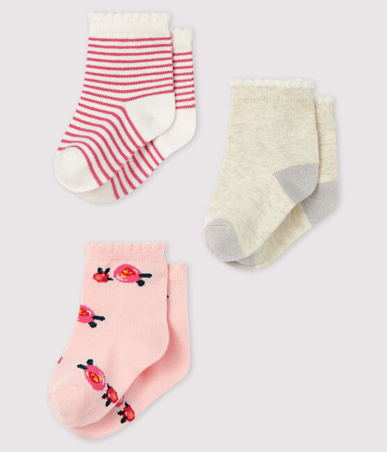 Set mit 3 Paar Baby-Socken lot .
