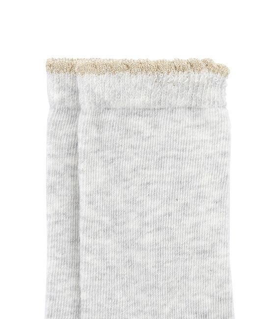 Mädchen Socken grau Beluga