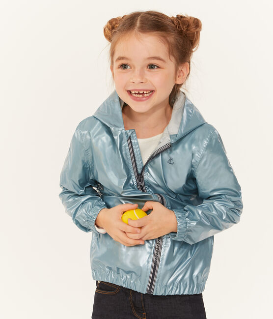 Winddichte Kinderjacke Unisex blau Crystal Brillant