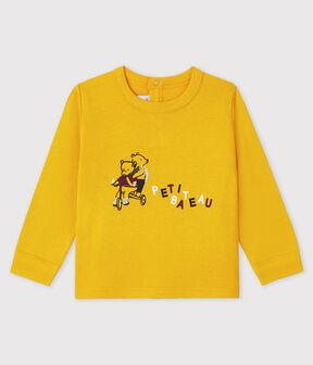 Baby-T-Shirt für Jungen gelb Boudor