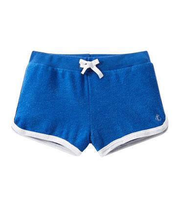 Mädchen-Shorts aus Bouclé-Frottier