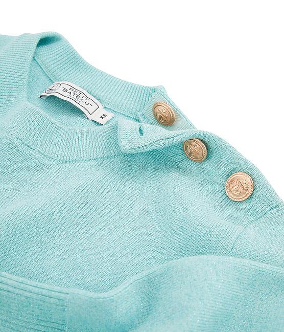 Damenpullover blau Verglas Brillant