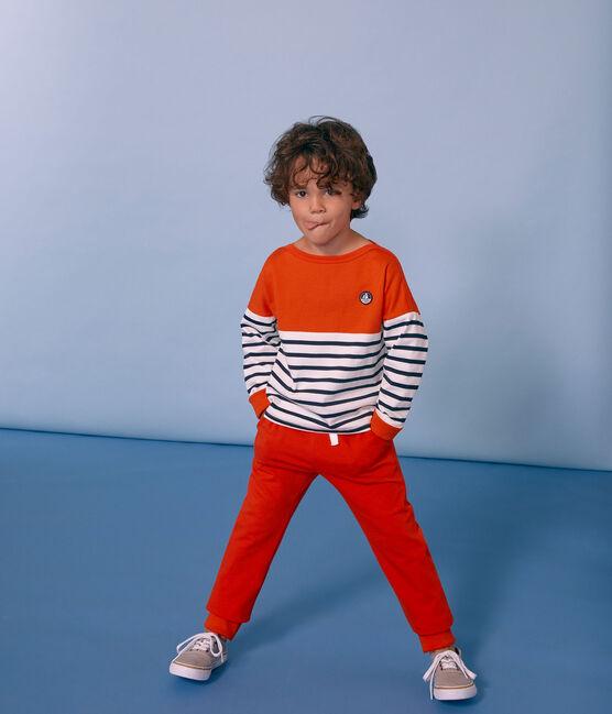 Kinderhose Jungen orange Carotte