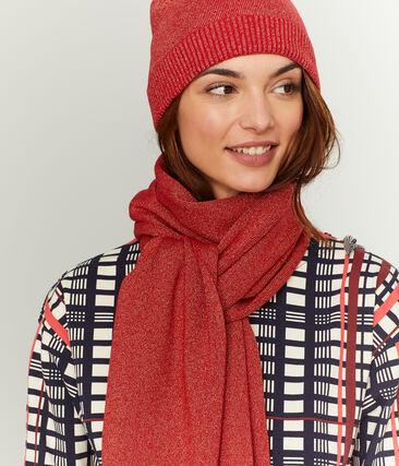 Glänzende Mütze für Damen rot Terkuit / rot Terkuit Brillant