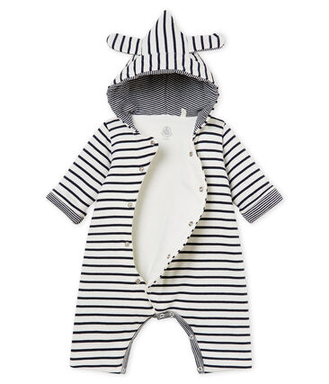 Baby-langoverall mit kapuze unisex