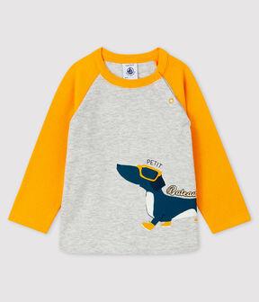Baby-T-Shirt für Jungen BELUGA/BOUDOR
