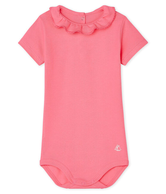 Baby-Body für Mädchen rosa Cupcake