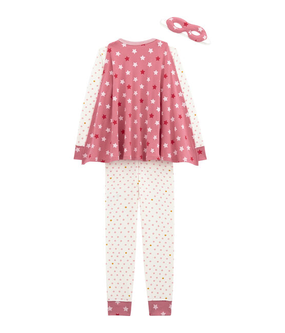 Mädchen Overall weiss Marshmallow / weiss Multico