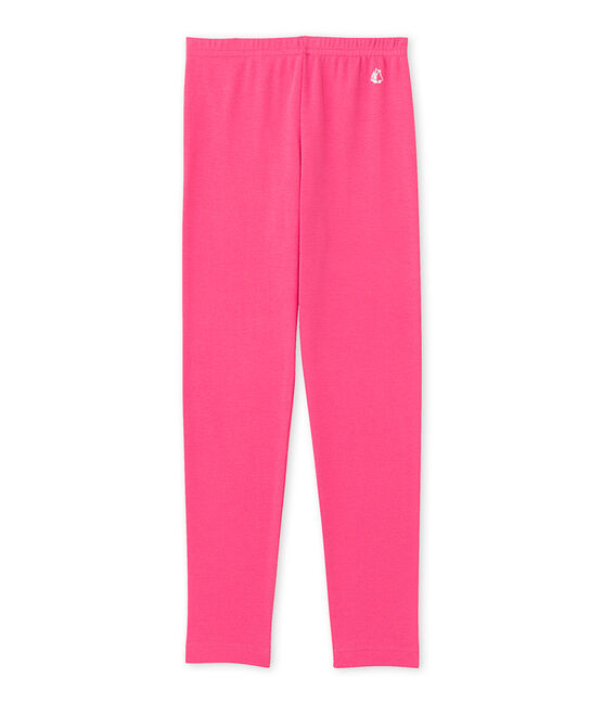 Mädchen-Leggings rosa Peony