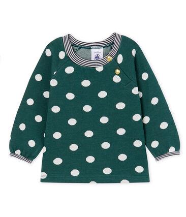 Langärmelige gemusterte Baby-Bluse für Mädchen