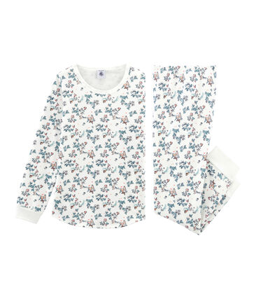 Pyjama aus Baumwolle für kleine Mädchen