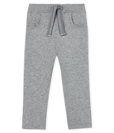 Baby-Hose aus warmem Molton für Jungen