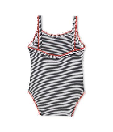 Einteiliger Baby-Badeanzug mit Milleraies-Streifenmuster Mädchen